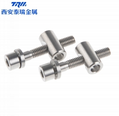 Titanium Ti Thomson Bike Seatpost Bolt Nut Washer 2pcs