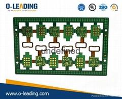 Rohs rigid- flexible pcb circuit board , UL,SGS,ROHS Certificated,Rigid-Flex PCB