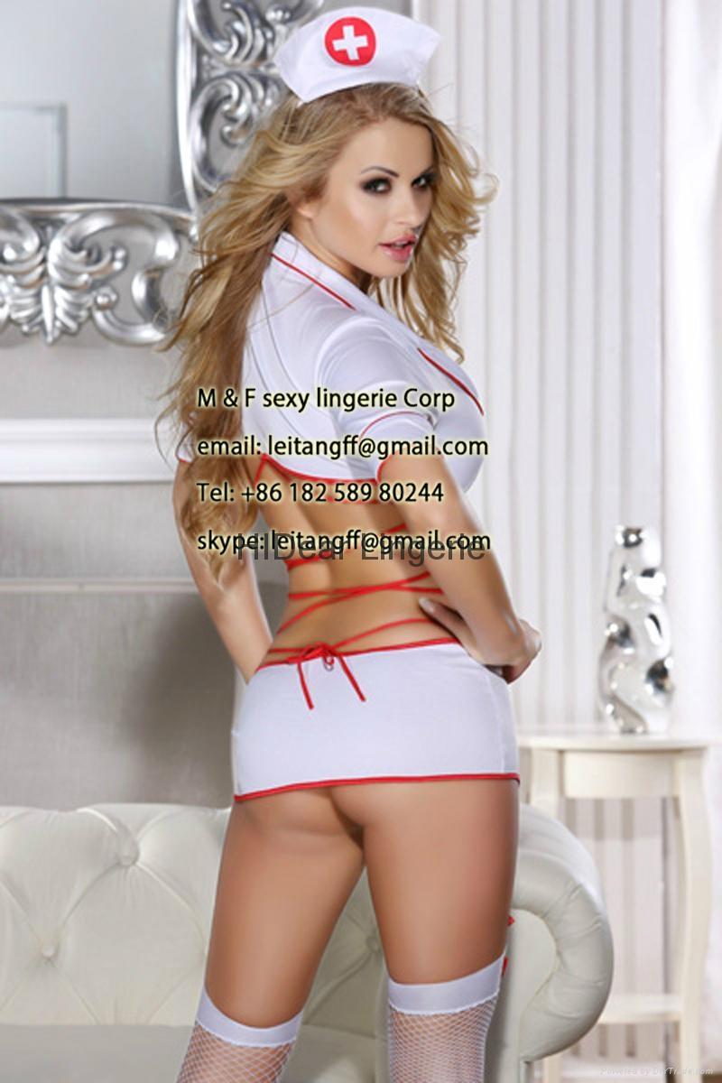 PLUS SIZE Nurse Costume sexy lingerie  2