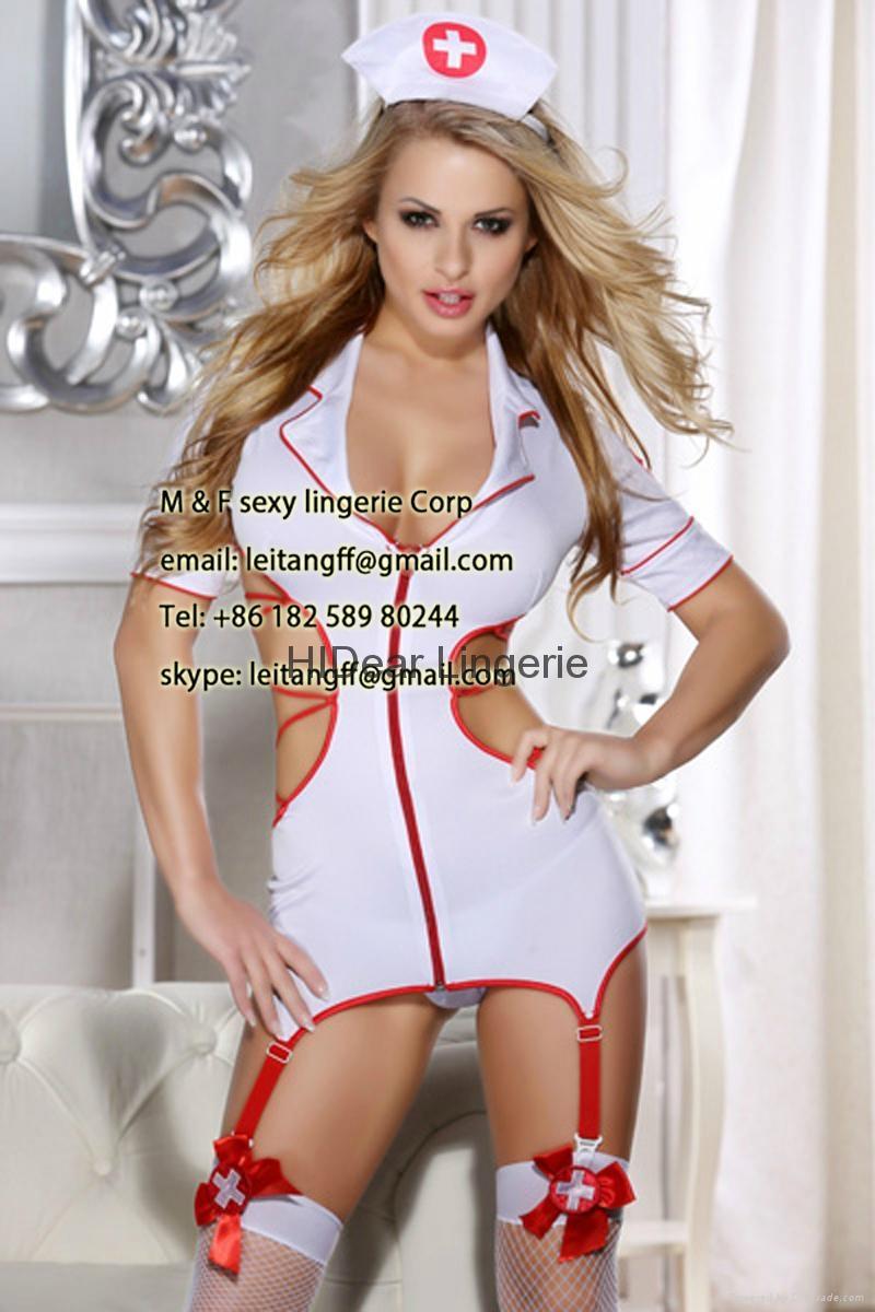 PLUS SIZE Nurse Costume sexy lingerie  3