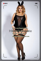 PLUS SIZE  Bunny Costume sexy lingerie