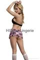 PLUS SIZE  School Girl set Sexy lingerie  3