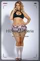 PLUS SIZE  School Girl set Sexy lingerie