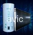 vertical solar panel water heater