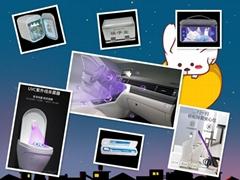 樂億迪工廠研發定製UVLED殺菌燈消毒燈深紫外殺菌燈
