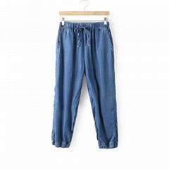 Custom denim jeans