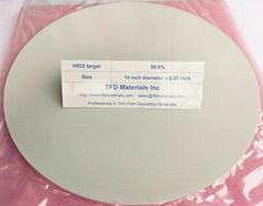 Hafnium Oxide HfO2 target
