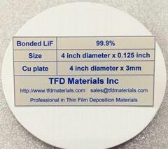 Lithium Fluoride LiF target