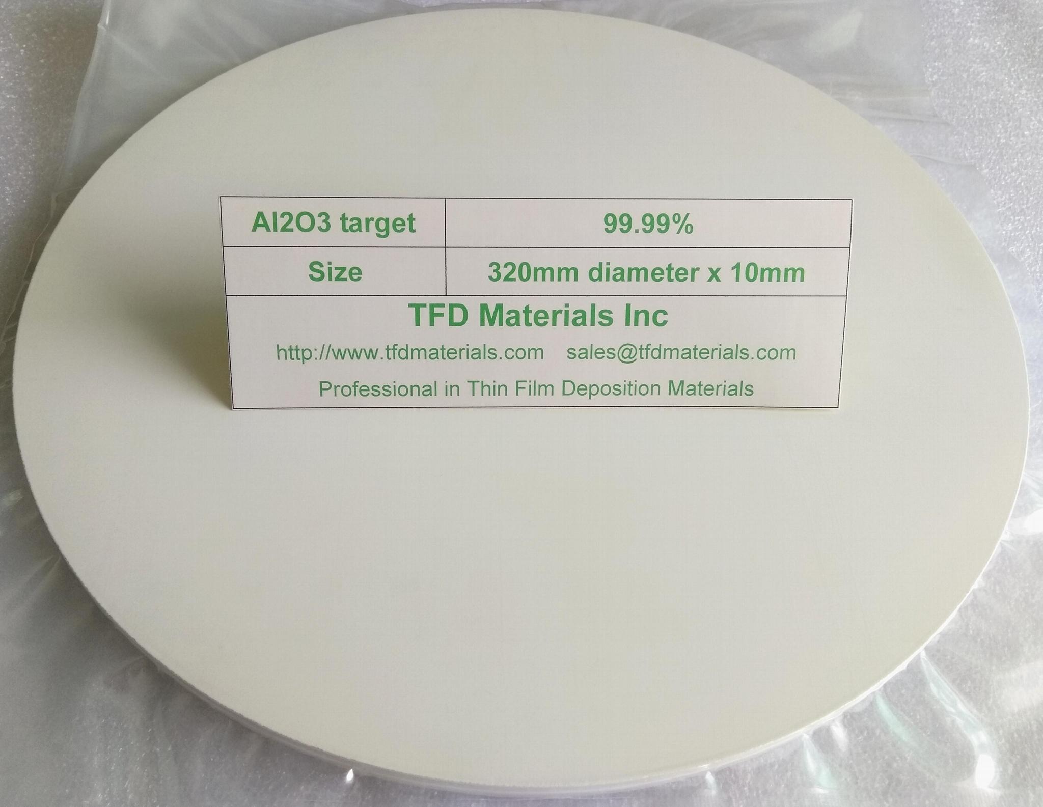Aluminum Oxide Al2O3 target