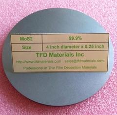 Molybdenum disulfide MoS2 target