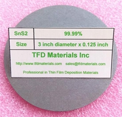 Tin disulfide SnS2 target
