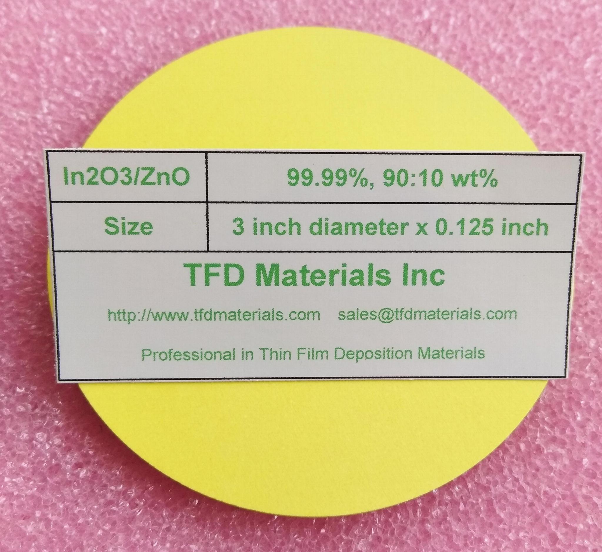 Indium Zinc Oxide IZO target