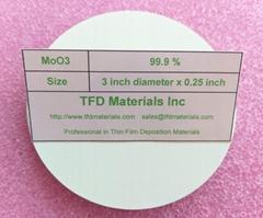 Molybdenum Trioxide MoO3 target