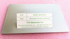 Vanadium Titanium V/Ti target