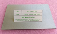 Iron Zirconium Fe/Zr target