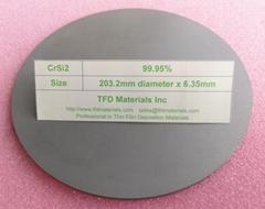Chromium Silicide CrSi2 target
