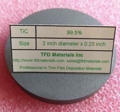 Titanium Carbide TiC target