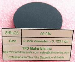Strontium Ruthenate SrRuO3 target