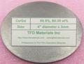 Cerium Gadolinium Ce/Gd target