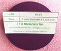 Lanthanum Hexaboride LaB6 disc target