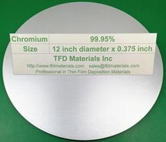 Chromium Cr target