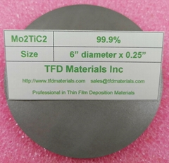 Molybdenum Titanium Carbide Mo2TiC2 target