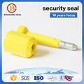 laser engraving high security bolt seal