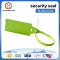 disposable plastic security lock for