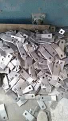 Agricultural machinery blades with wear
