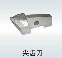 Shield machine cutter blades wear resistance