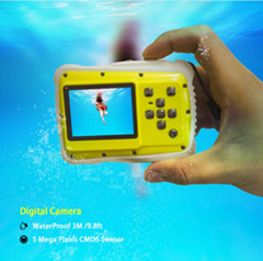 "Underwater Sport Action wireless Camera 5MP for Kids 2.0"" TFT Screen"