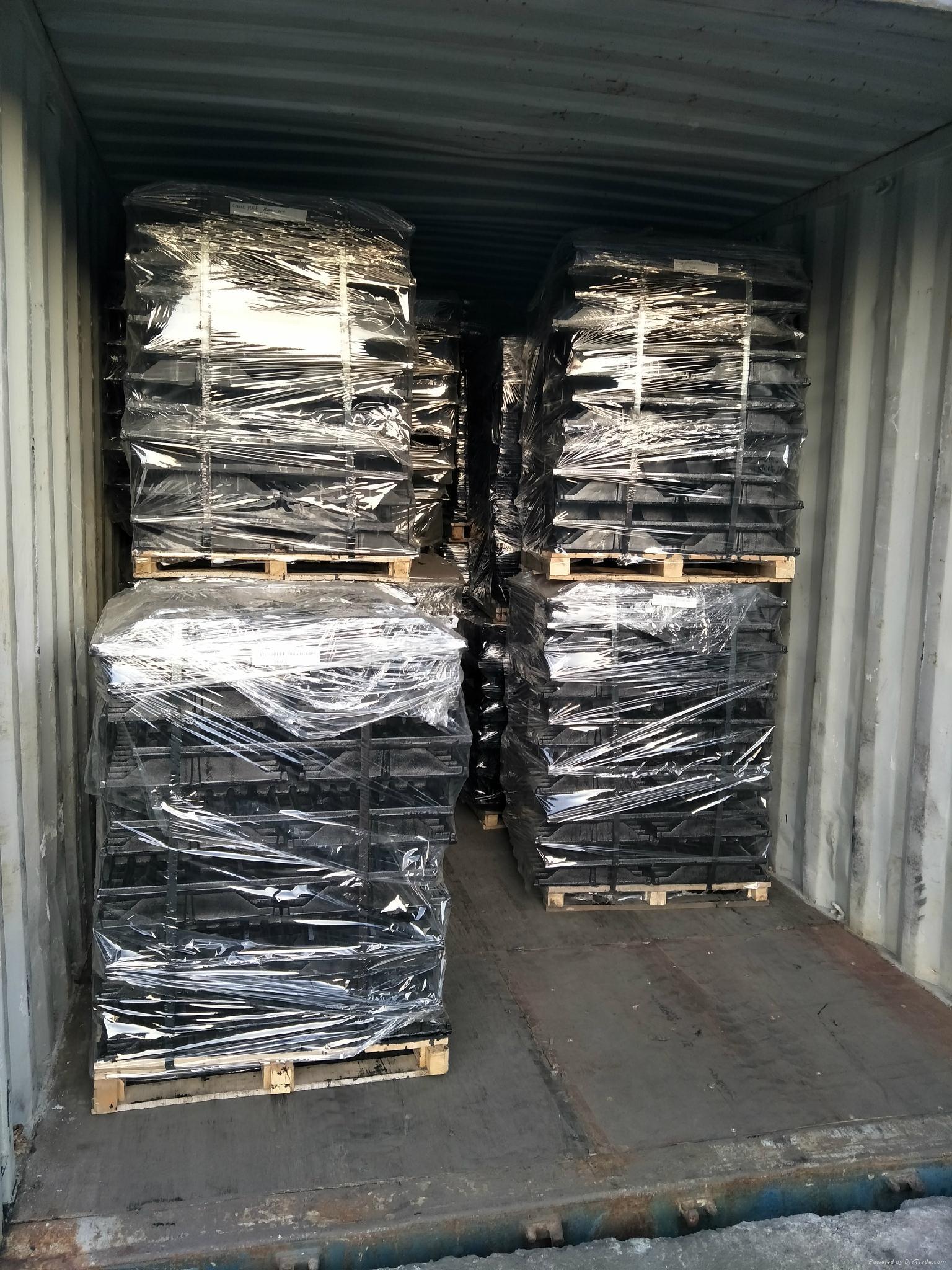 factory for pig cast floor 600x600 ductile iron slat floor 2
