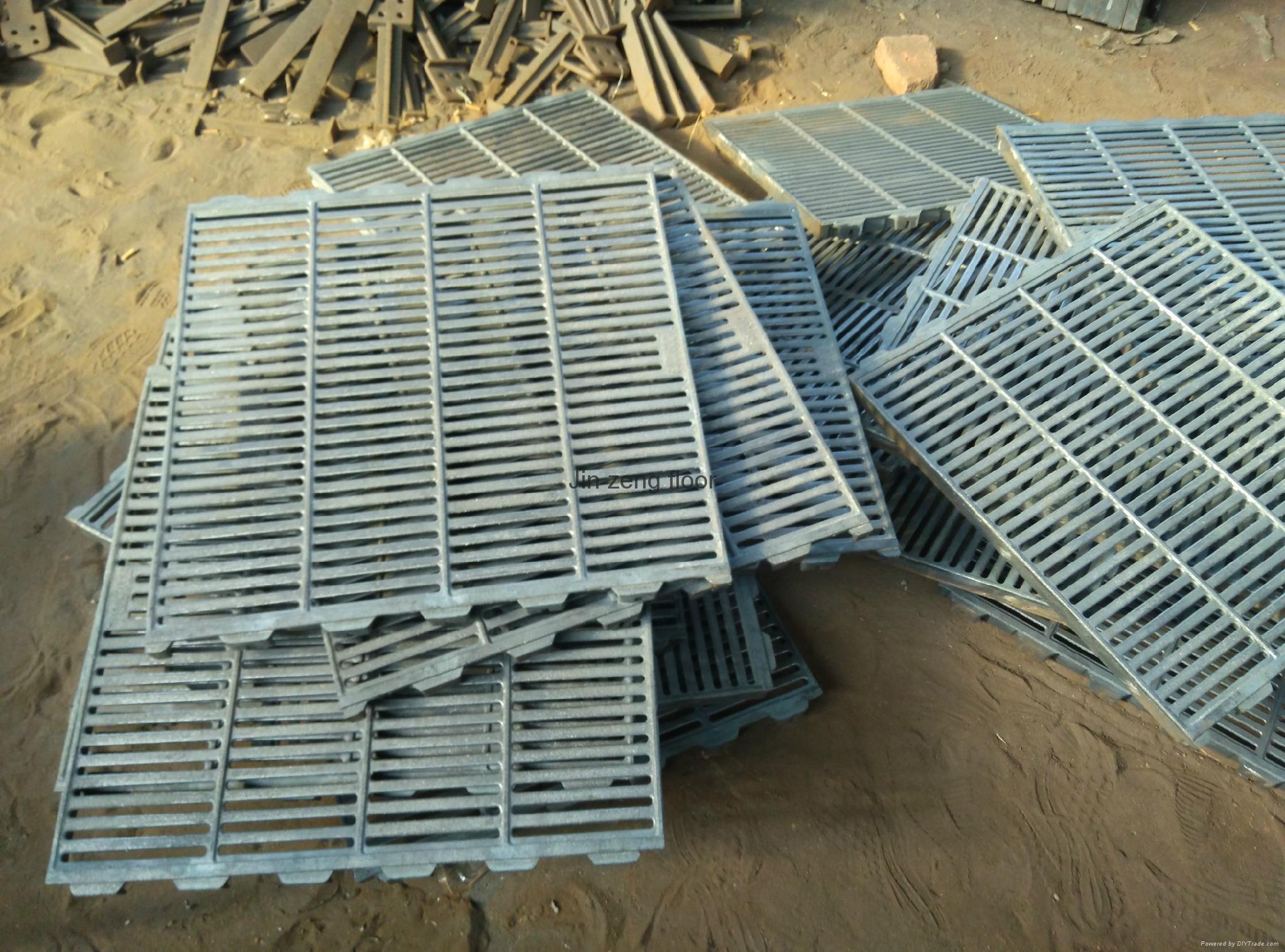 pig cast floor slat floor ductile iron floor factory 2
