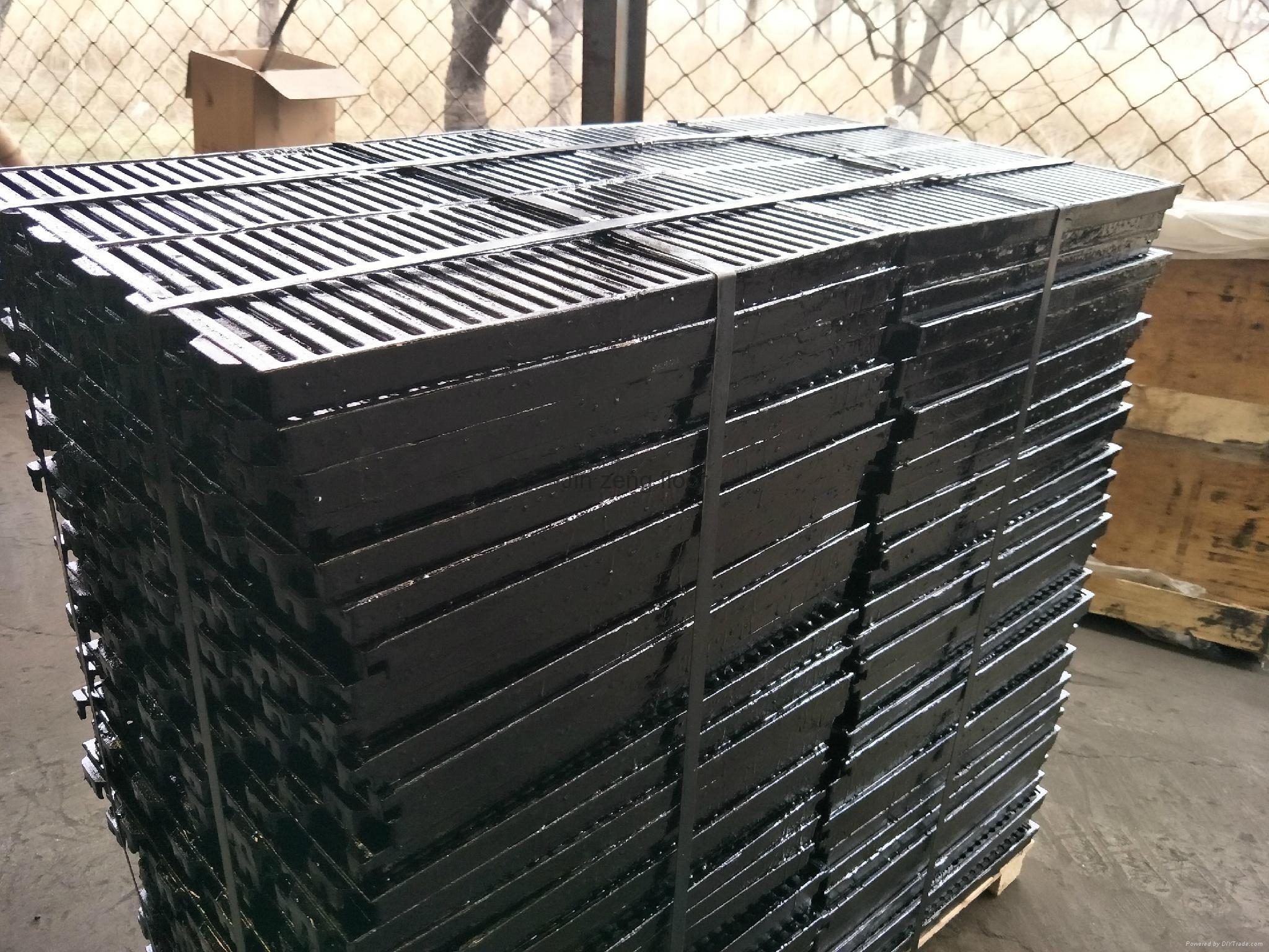 pig cast floor slat floor ductile iron floor factory 4