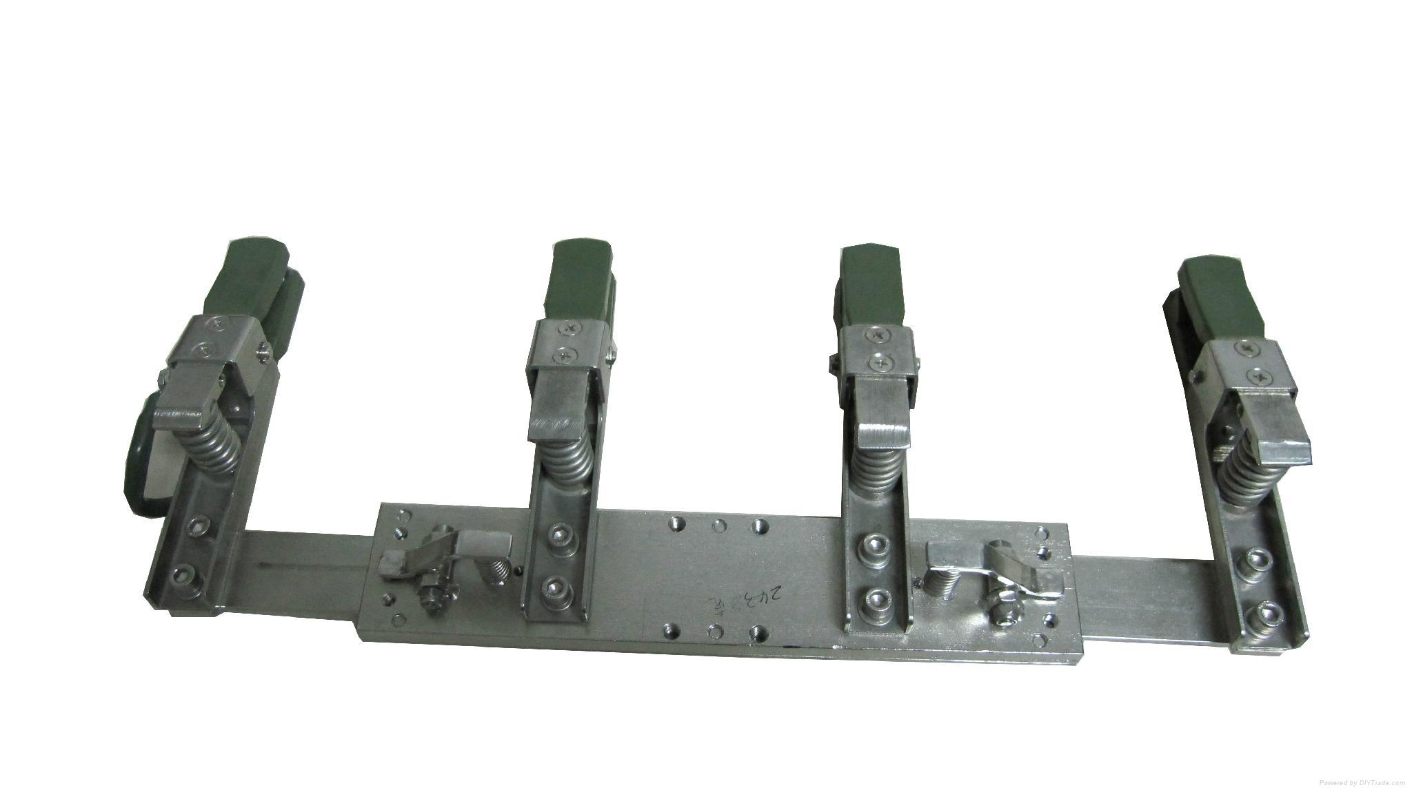 blank PCB plating VCP electroplating gripper hanging PCB