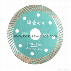 Ceramic cut diamond Saw Blade