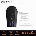 OKADU BT09 German Standard USB Bicycle Light Cree LED Bike Light 2
