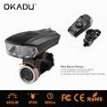 OKADU BT09 German Standard USB Bicycle Light Cree LED Bike Light 4
