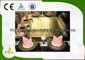 Electromagnetic Heating Rectangle Seven Seats Teppanyaki Grill Table 3
