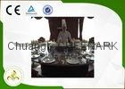 12 Seats Stainless Steel Circle Teppanyaki Grill Table 2