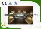 12 Seats Stainless Steel Circle Teppanyaki Grill Table 4