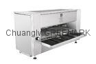 Stainless Steel Electric Top Heating Commercial Barbecue Grill