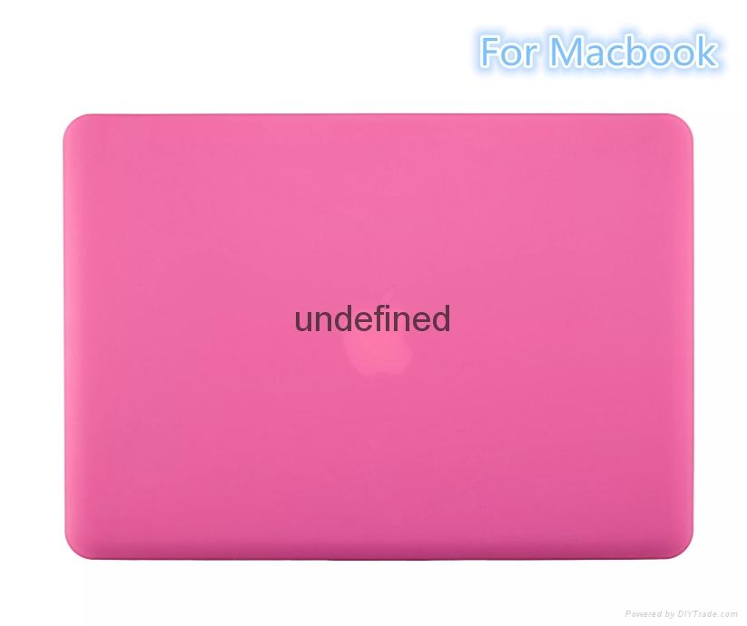 Macbook Air Pro Retina Matte Matte Hard Plastic Case. Crystal Rubber Case 4