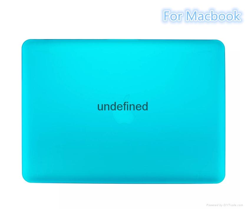 Macbook Air Pro Retina Matte Matte Hard Plastic Case. Crystal Rubber Case 3