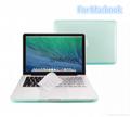 Macbook Air Pro Retina Matte Matte Hard Plastic Case. Crystal Rubber Case 1