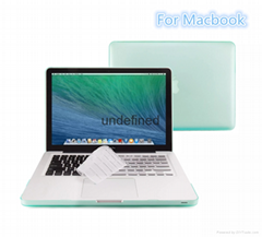 Macbook Air Pro Retina Matte Matte Hard Plastic Case. Crystal Rubber Case