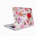 Macbook Pro New Crystal Transparent Rose Hard Case 12.13 Inch Laptop Bag 3