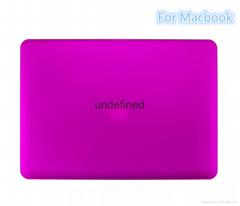 For Macbook Air Pro Retina Laptop Crystal Rubber Case, Matte Matte Hard Plastic