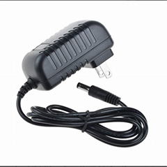 12V 2A DC to 100-240V AC Power Supply Adapter for LED Strip Lights