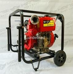 2.5寸消防泵柴油驅動高壓泵